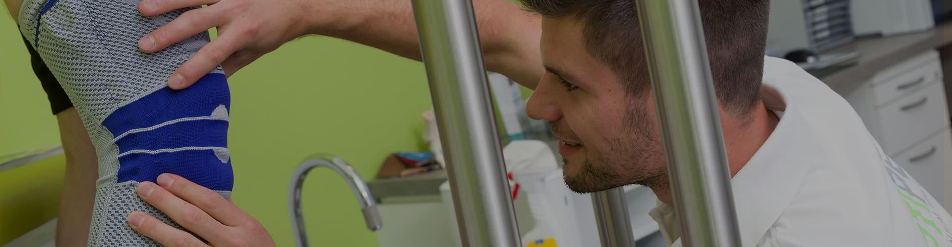 Gangauf Orthopädie Header Bandagen und Orthesen